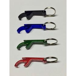 Portachiavi apribottiglie in Alluminio con incisione laser personalizzata www.personalizzazionilaser.it