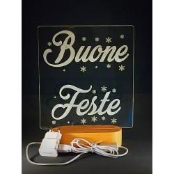 Lampada Buone Feste in...