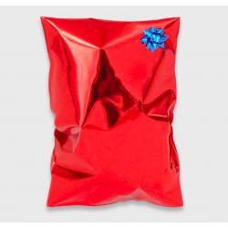 Buste regalo metallizzate con patella adesiva www.personalizzazionilaser.it