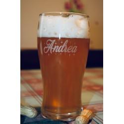 Bicchiere da birra e sottobicchiere Festa del Papà  www.personalizzazionilaser.it