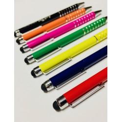 Penna a sfera in alluminio con touch screen e con incisione a laser personalizzata www.personalizzazionilaser.it