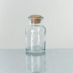 Vasetti in vetro con tappo in sughero  www.personalizzazionilaser.it