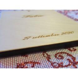 Bomboniera quadretto per battesimo Mod. SACRA FAMIGLIA  www.personalizzazionilaser.it